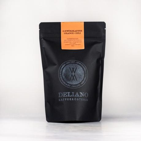 Kaffee, Gewürzkaffee Orange Chili, gemahlen