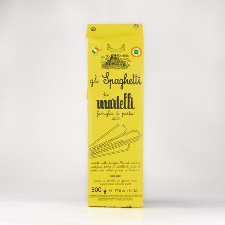 Pasta Martelli, Spaghetti