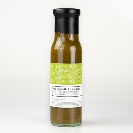 Sauce, Fresh Tomatillo & Lime Salsa